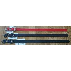 Läderhalsband 25cm 12mm