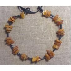 Bärnstenshalsband  25cm (Fraktfritt)