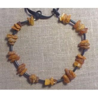 Bärnstenshalsband 40cm (Fraktfritt)