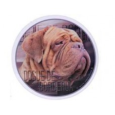 Dekal Rund Dogue de Bordeaux