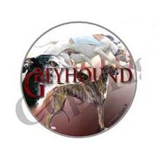 Dekal Rund Greyhound